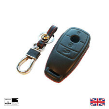Leather Luxury Smart Key Cover 2019 Mercedes C Class A Class GLE GLC GLA E CLA