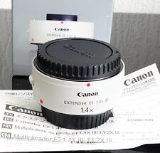 Canon Extender EF 1.4x III. Boxed