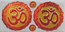 Klein Vielversprechend Hindu / Buddhistisch Om Sticker Holographische 5.9cm