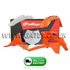 KTM XC 150/250/300/350/450 XCF 2011-2012 Orange/White Polisport Plastics Kit