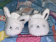 NWT-Carter's Just One You Baby/Infant Bunny Crib Slipper Shoes NEWBORN