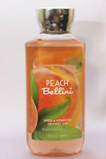 NEW 1 PEACH BELLINI BATH & BODY WORKS BODY WASH FRAGRANCE SHOWER GEL 10 FL OZ