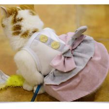 Small Pet Puppy  Cat Skirt Princess Dress Summer Clothes Apparel  CB