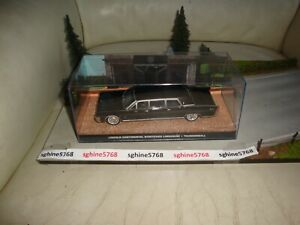 UH Universal Hobbies 1/43 - Lincoln Continental Stretched - James Bond 007 - BL