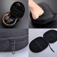 14*14*7cm Schutztasche Tasche Case Bag Etui Box für Ohrhörer Kopfhörer Head D8V3