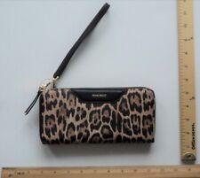 Wristlet Wallet Purse Leopard Cheetah Print Nine West Clutch Bag - FLASH SALE