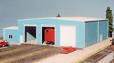 Pikestuff (HO-Scale) #541-0015 The Shops -- 70' x 80' (blue) - NIB