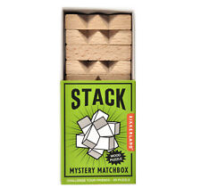 Stack - 3D Wood Puzzle - Mystery Matchbox Pocket puzzle