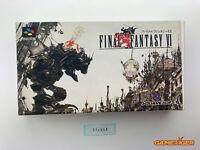 FINAL FANTASY VI 6 Nintendo Super Famicom SFC JAPAN Ref:314558