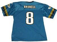 Vintage 1998 Mark Brunell NFL Starter Jersey Jacksonville Jaguars Mens Sz XL 52