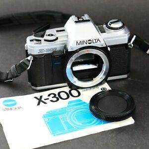 Minolta X - 300 - tested & working