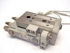 SMC MXQ20-10ASP Pneumatic Cylinder, Slide Table, Stroke ADJ.