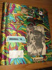 Hank Aaron - Vintage 1974 Scrap Book - Street & Smith's Yearbook - Photos