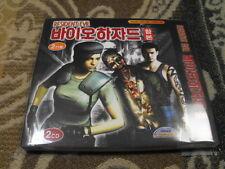 (PC GAME) CAPCOM Resident Evil Bio Hazard 1,2,3 NEW Director's CUT win7