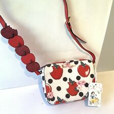 Cath Kidston Disney Snow White Cross Body Small Shoulder Bag Red Apples