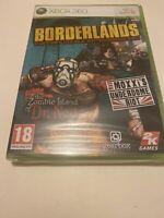 🥰 xbox 360 neuf blister borderlands coffret double extension zombie island