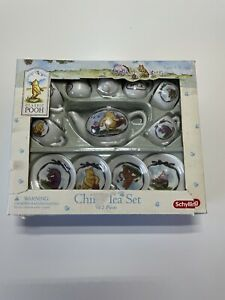 Schylling Classic Winnie The Pooh Miniature Tea Set 12 Piece Collectable