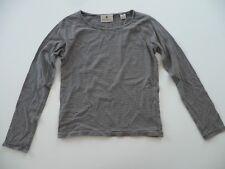t-shirt SCOTCH R'BELLE taille  8 Ans Fille gris rayé manches longues