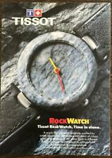 1987 Tissot Rock Watch Print Ad from a Canadian Magazine