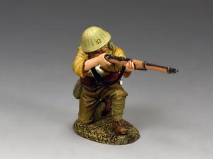 """KING & COUNTRY JN031 WWII IMPERIAL JAPANESE ARMY """"KNEELING FIRING""""  MIB!"""
