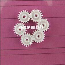 20pcs Plastic Spur Gear 0.5 Modulus T=18 Aperture:2mm DIY Model Accessories 18T