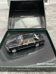 Minichamps Bentley Arnage T Black 1:43 Scale BL324 Boxed New