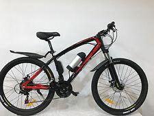 "Bici elettrica Bici Elettrica MOUNTAINBIKE 26 Zoll bici ""Solomo"" MTB 21 Gang"