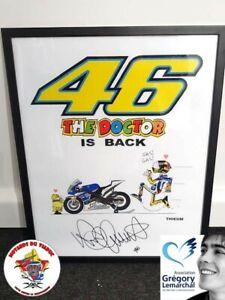 Dessin Thieum signé par Valentino Rossi