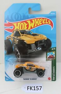 Hot wheels Getaways Twinnin' 'N Winnin' Yellow 4/5 FNQHotwheels FK157