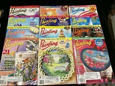 Decorative Arts Painting, Lot Of 12 Magazines, 2001-2002, Both Complete Years
