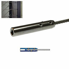 Edelstahl Seilspanner für 4mm 5mm 6mm Drahtseil - Geländer Treppe Balkon Seile