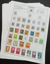 EDW1949SELL : PHILIPPINES Mint & Used collection of 241 all diff on album pages