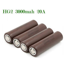 for LG 18650 Hg2 3000mah Rechargeable High Drain Li-ion Battery Flat Top Vape LJ