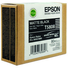 Original Tinte EPSON Stylus Pro 3800 3880 / T5808 Matt Black Ink Cartridge