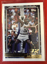 1992-93 Topps Basketball GOLD #362 Shaquille O'Neal Shaq RC ROOKIE PSA 9?
