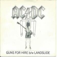 7'AC/DC  >Guns for Hire/Landslide<    UK 1983