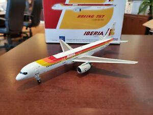 Aviation 200 Iberia Airlines Boeing 757 EC-HIX 1:200 DieCast Plane