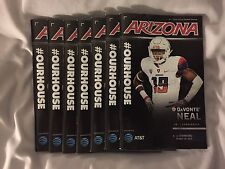 2016 College Gameday Football Program Arizona vs Stanford with Game Ticket