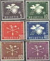 Schweiz WMO1-WMO6 (kompl.Ausg.) gestempelt 1973 Meteorologie