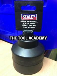 Sealey Tools Impact Socket 65mm Thin Wall 3/4 Drive 6 Sided