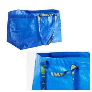 5x FRAKTA Ikea Einkaufs Trage Tasche XL blau 71L (bis 25kg) NEU Leergut Umzug