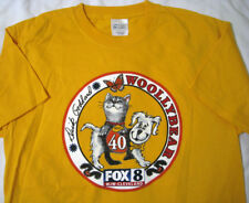 Dick Goddard ® Woollybear WJW TV Fox 8 Cleveland Ohio M Medium T Shirt New NWOT