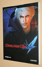Devil May Cry 4 el oficial solución libro/Strategy Guide ps3 Xbox 360