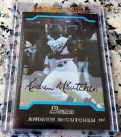 ANDREW MCCUTCHEN 2005 Bowman Promo SP Rookie Card RC Phillies 223 HRs $$