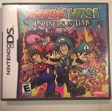 Mario & Luigi: Partners in Time (Nintendo DS, 2005)Complete Great Authentic