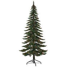 7.5' Ft Pre-Lit Ridgeline Alpine Spruce Artificial Christmas Tree MultiColor LED