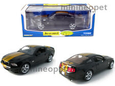 GREENLIGHT 2010 10 FORD MUSTANG GT COUPE HERTZ 1/18 BLACK with GOLD STRIPES