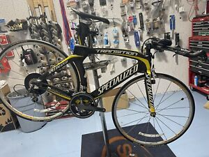 Specialized Transition Comp Triathlon TT Full Carbon Fiber Bike M Medium
