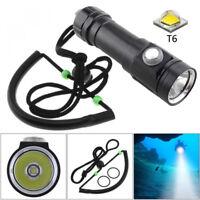 5 Modes T6 LED Diving Scuba Flashlight 5 Modes Lamp Torch 18650 Fishing Light