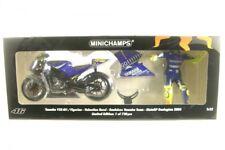 Minichamps Modellino Moto Yamaha Yzr-m1 Valentino Rossi con Pilota GP Donington